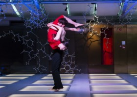 """""""Passaggi"""" performance di danza al T Fondaco (Fontego dei tedeschi) – Rialto – Venezia"""