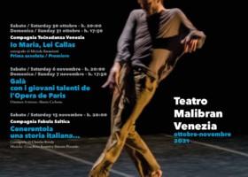 Festival VeneziainDanza 2021 – Teatro Malibran Venezia